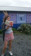 kate reading surf mama
