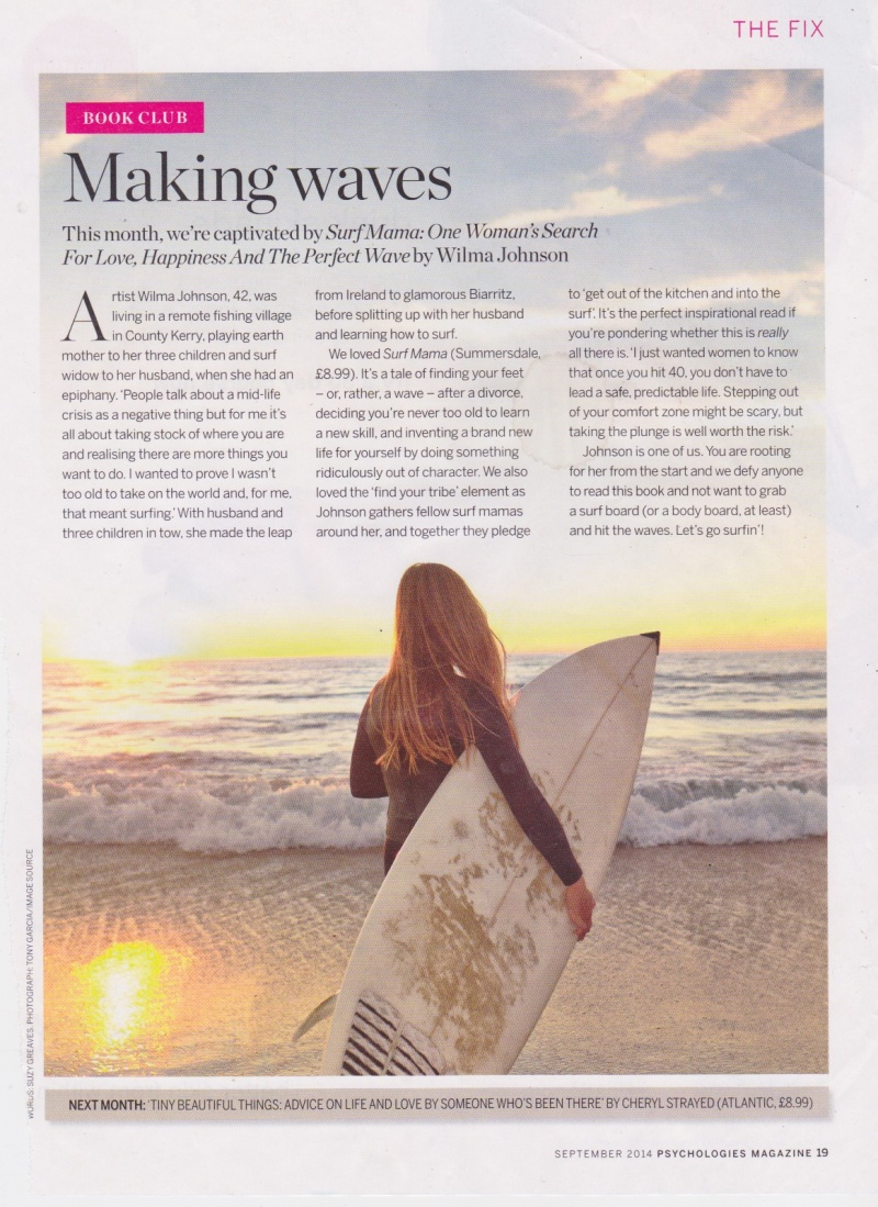 psychologies page