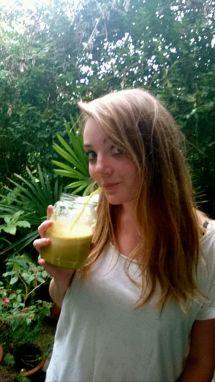 Daisy on the juice again