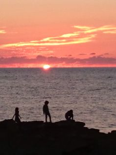 sunset apero
