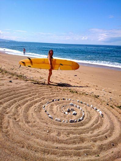 Loving the sand art