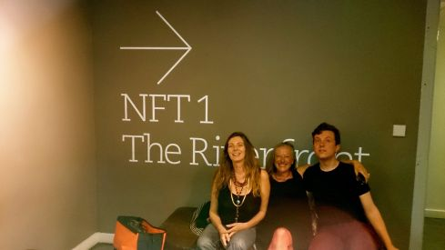 My film at the NFT red carpet! Private View 1982 vintage Neo Naturist movie